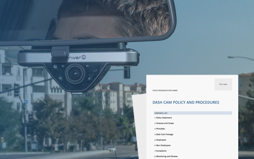 How to Create a Dash Cam Policy